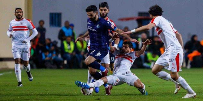 الدوري المصري : قمة بين الزمالك وبيراميدز في صراع المركز الثاني