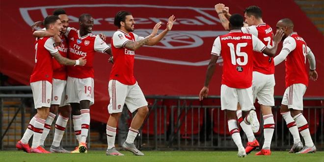 آرسنال يفوز على مانشستر سيتي ويتأهل الى نهائي كأس الإتحاد الانجليزي