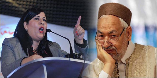 """عبير موسي : """"نعمل على إخراج حركة النهضة من الحكومة المقبلة"""""""