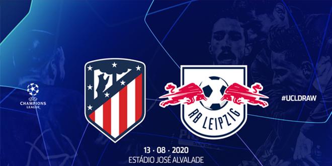 أبطال أوروبا : أتلتيكو مدريد يواجه لايبزيغ في الدور الربع النهائي