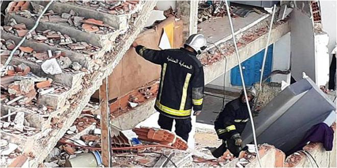انفجار حي الزهور: انتشال الجثة الثالثة