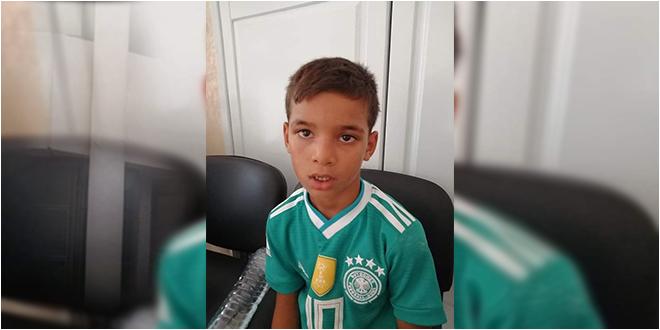 اعلان ضياع: طفل عمره 6 سنوات أصيل القيروان إلى حد اللحظة بمركز الحرس الوطني ببنان في إنتظار إيجاد والديه