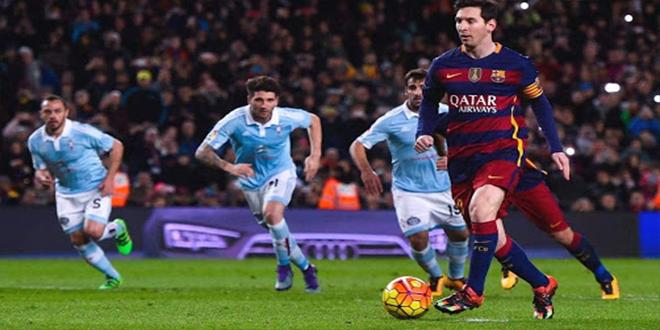 الدوري الإسباني : برشلونة في مواجهة سلتا فيغو