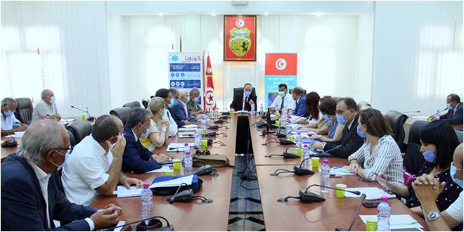 إجتماع اللجنة العلمية لمتابعة إنتشار فيروس كورونا
