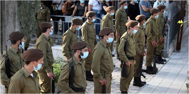 922 إصابة بكورونا في صفوف الجيش الإسرائيلي و أكثر من 7 ألاف عسكري في الحجر الصحي