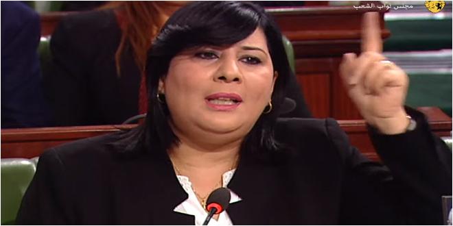 """عبير موسي لهشام المشيشي  : """"كن في مستوى المرحلة وشكل حكومة دون الخوانجية وسنكون معك"""""""