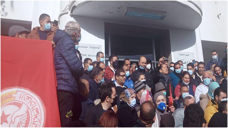 أعوان الصحة في إضراب مفتوح بداية من الغد