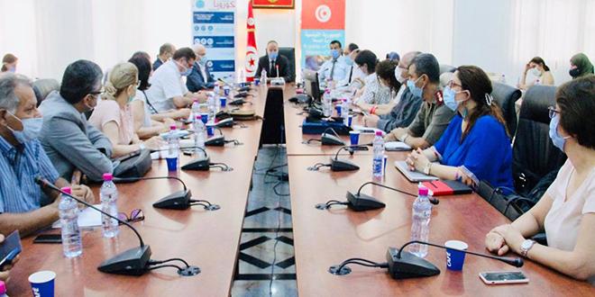 اجتماع اللجنة العلمية القارة لمتابعة انتشار فيروس كورونا