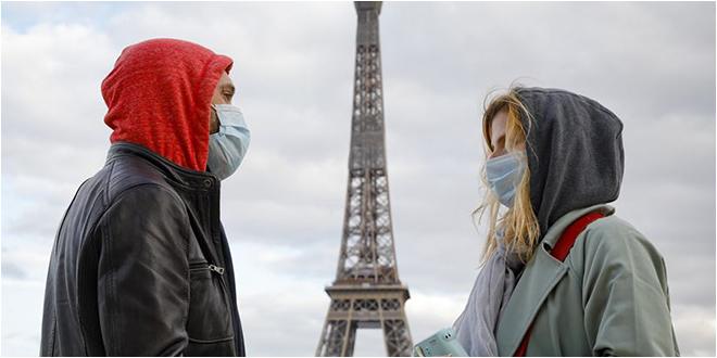 5453 إصابة جديدة بكورونا في فرنسا