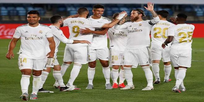الدوري الاسباني : قائمة ريال مدريد لمواجهة ليفانتي